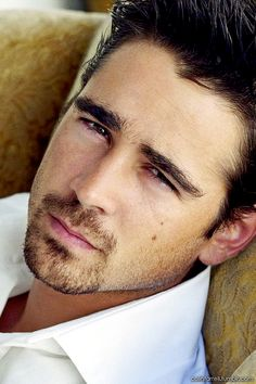"""Colin Farrell born in Ireland and known as a """"badboy"""" Colin Farrell, Pretty People, Beautiful People, Look Girl, Shows, Attractive Men, Good Looking Men, Famous Faces, Hot Guys"""