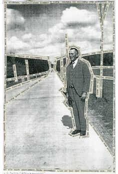 Robert Walser April 1878 – 25 December was a German-speaking Swiss writer. Walser is understood to be the missing link between Kleist and Kafka. A Level Photography, Art Photography, Collage Design, Collage Art, Photomontage, Gcse Art Sketchbook, A Level Art, Collages, Altered Art