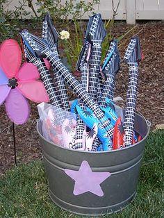 Rock Star Party Place: Rock Princess Party