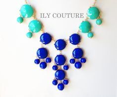 amazing etsy store with bauble necklaces.....jcrew inspiration!