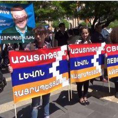 В Ереване началось шествие с требованием об освобождении Левона Айрапетяна