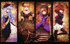 Umineko no Naku Koro ni (When The Seagulls Cry) Image - Zerochan Anime Image Board Canvas Poster, Poster Wall, Canvas Wall Art, Umineko When They Cry, Anime Crossover, Anime Life, Art Girl, Anime Art, Goth