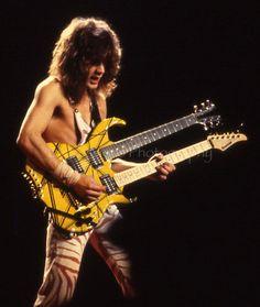 Eddie Van Halen 1982 by Taylor Player, via Flickr