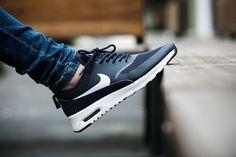 "Nike Wmns Air Max Thea ""Obsidian"" (599409-409) - http://goo.gl/SZVkTi"