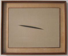 """""""Lucio Fontana was forcing a three-dimensional space on the viewer."""" I made a tent with my fingers. """"Quint said it has nothing in common with what Hélène was doing."""""""