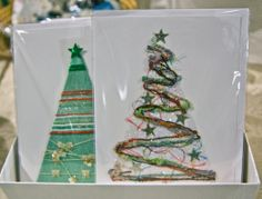 Handmade holiday cards by a local artist. www.athm.org