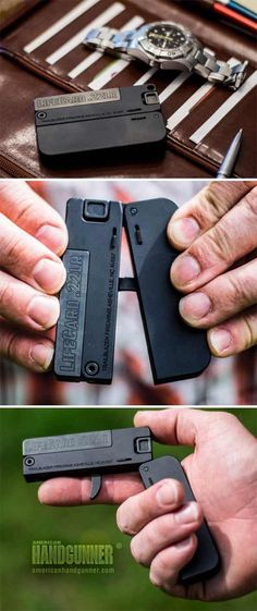 EXCLUSIVE: Trailblazer LifeCard — .22 LR | By Tank Hoover | Before everyone gets their panties all knotted up and starts spewing gobbledygook about the choice of a folded-up, single-shot firearm in an anemic caliber, let me make one thing perfectly clear: This is NOT a primary carry concealed firearm, nor should it be considered one. Hell, I know that, and you should too … | © American Handgunner 2017