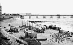 Photo of Blackpool, North Shore 1890 from Francis Frith Nostalgic Images, Blackpool, British History, North Shore, Life Images, Vintage Advertisements, Liverpool, Seaside, Paris Skyline