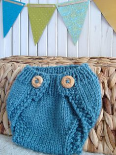 Pattern Newborn Diaper Cover