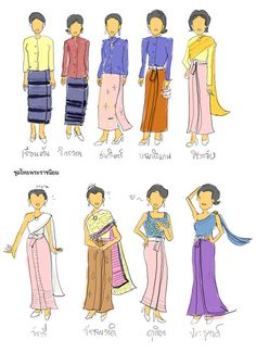 gown_thai_style by mariliu, via Flickr