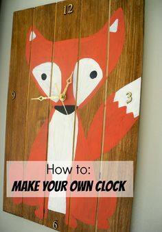 Fox Clock - The Wood Connection Blog