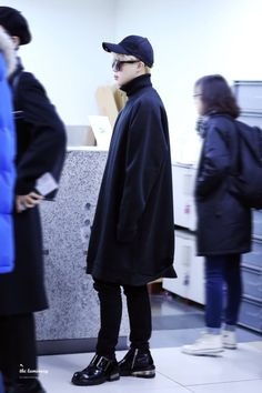 BTS(Jimin) Airport Style