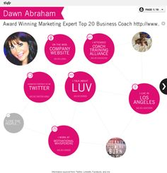 overview visualization: Dawn Abraham