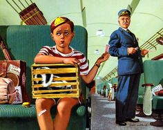 Plan59 :: Vintage Ads :: Mid-Century Modern :: David Lockhart, 1952