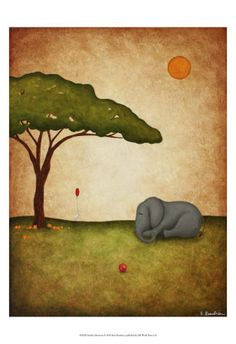 Sunday Afternoon Arte por Shari Beaubien na AllPosters.com.br