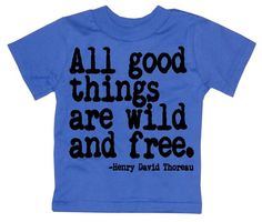 NEW - All Good Things Are Wild And Free Nerdy Book Worm toddler kids T-Shirt