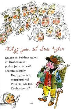 ukázka z knihy Špity špity bábo, ilustrace Miloslav Jágr.