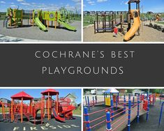 Best Cochrane Playgrounds - Cochrane's best playgrounds - Alberta with kids - outdoor fun - play outside Kids Outdoor Playground, Outdoor Fun For Kids, Playgrounds, Parks And Recreation, Road Trips, Family Travel, Wander, Urban