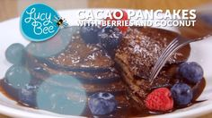 Wistia video thumbnail - Cacao Pancakes with Berries and Coconut