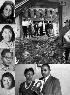 1963 - The 16th Street Baptist Church in Birmingham, Alabama was bombed as an act of racially motivated terrorism. The explosion at the African-American church, kills four girls and marks a turning point in the U.S. Civil Rights Movement. It helps build support for passage of the Civil Rights Act of 1964.