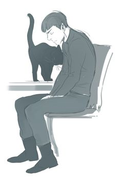 I WANT SPOCK TO HAVE A CAT YES THIS IS GOOD