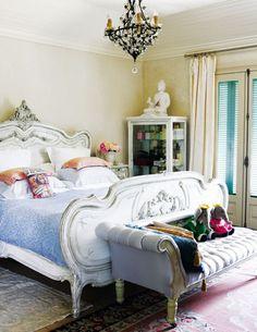 Funky elegant bedroom