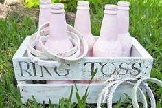 PINTEREST ring toss fun and games wedding