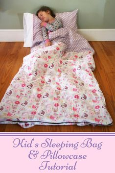 Sleeping Bag Sewing Tutorial from Sew a Little Seam