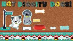Hot Diggity Dogs Two-Sided Decoration | Carson-Dellosa Publishing