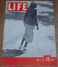 Life Magazine May 3, 1937 Harlow in Hollywood on cover