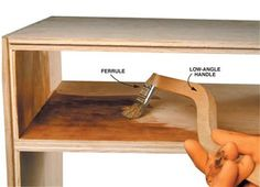 Q & A: A Brush for Tight Spots - Woodworking Shop - American Woodworker