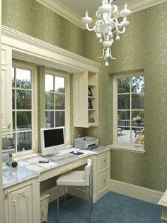 Home Decor Eclectic Home-office. ホームオフィスのインテリアコーディネイト実例