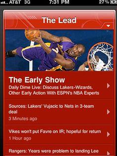 ESPN Scorecenter  rocks.