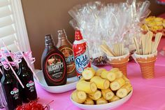 Ice Cream Shoppe Party #icecream #party