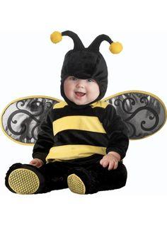 Disfraz de abejita del reino para bebé