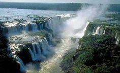 Water falls, Argentina. Iguazú.