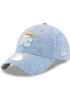 a9301bf3ab9 New Era Kansas City Royals Blue Multi Tone LS 9TWENTY Womens Adjustable Hat  - 5902943