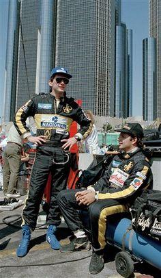 F1 Detroit Grand Prix Senna de Angelis