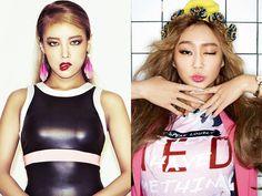 "SISTAR's Hyorin and Wonder Girls Yubin Discuss Competing on ""Unpretty Rapstar 2"" | Koogle TV"