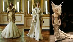 A marriage of Houses Lannister and Baratheon http://colingilchrist.files.wordpress.com/2011/03/alexander-mcqueen-wedding-dresses.jpg
