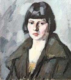 Samuel John Peploe - Head of a Young Girl .1920