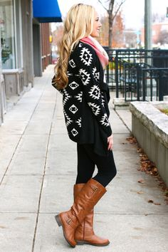 Draped in Aztec Cardi - UOIONLINE.COM