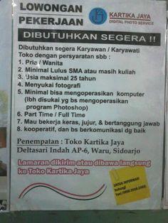 Find Job Sidoarjo