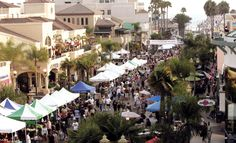 HB Street Fair called Surf City Nights hosted every week. Check out the calender of events for Huntington Beach!