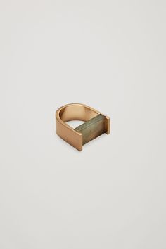 COS image 1 of Square stone ring in Gold