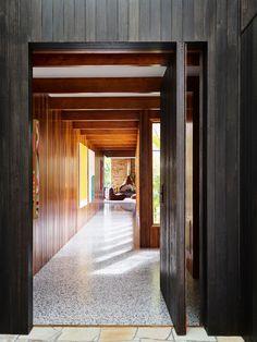 Sandy Bay Residence by Flack Studio - Tasmania, Australia - Video Feature - The Local Project The Sims, Contemporary Architecture, Interior Architecture, Interior Design, Flack Studio, Entry Stairs, Dynamic Design, Secret Rooms, Tasmania