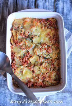 Gratin depommes de terre tomates et chair saucisse recette chaises et gratin - Pomme de terre farcie chair a saucisse ...