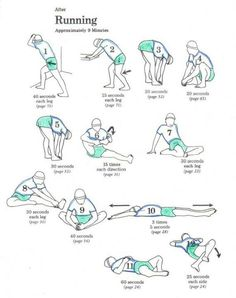 stretches for runners or after any cardio :)