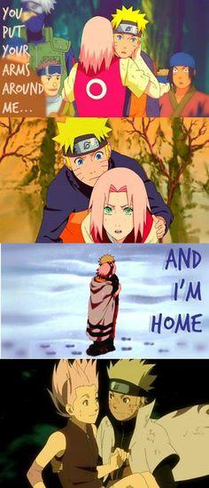 Naruto/Naruto Shippuden, narusaku. put your arms