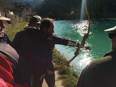 pesca con l'arco